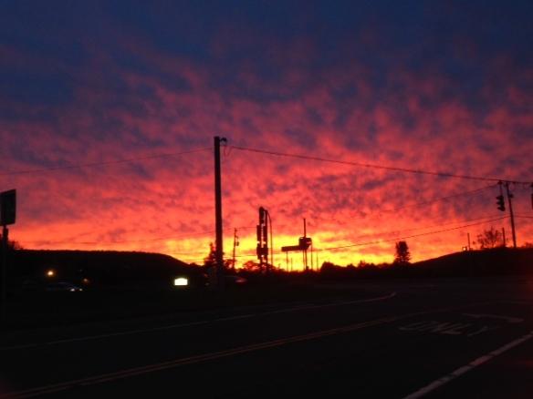 dave's sunrise