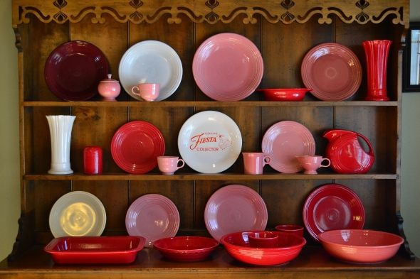 fiesta ware for the month of march