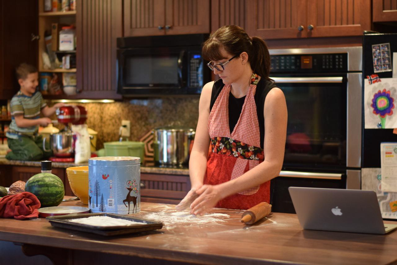 Busy Kitchen busy kitchen, happy hearts – good to be home